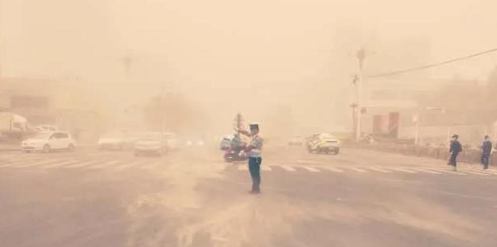 沙尘中的守护者